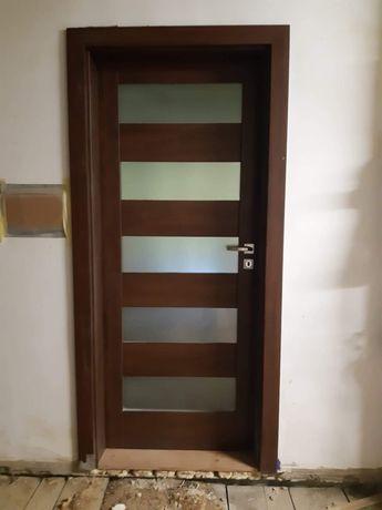 Drzwi pokojowe 60 lewe Verte + ościeżnica [jak nowe]