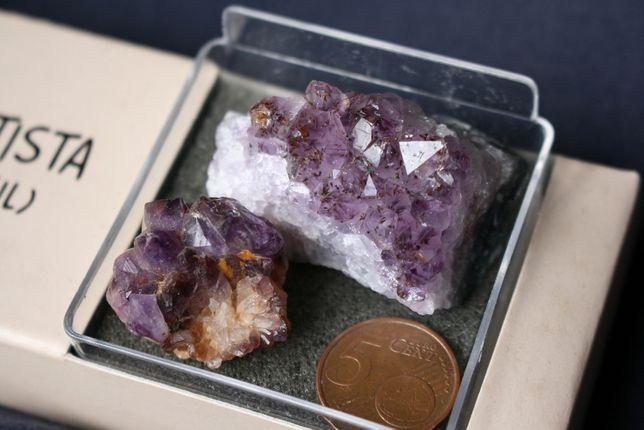Minerais – Quarzto ametista do Brasil (inclui envio)