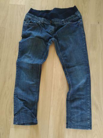 Spodnie jeans ciążowe 42