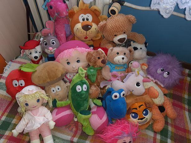 Mix zabawek pluszowych