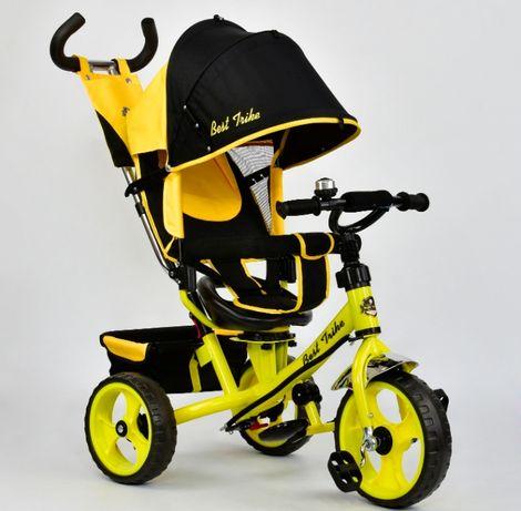 Гарантия! Дитячий велосипед трёхколёсный ровер з ручкою для батьків