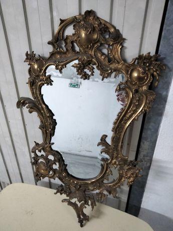 Espelho latão antigo