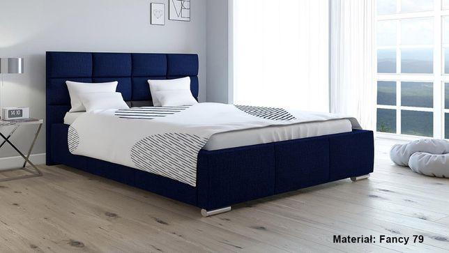 Łóżko tapicerowane LUX 7 160x200 Stelaż + pojemnik