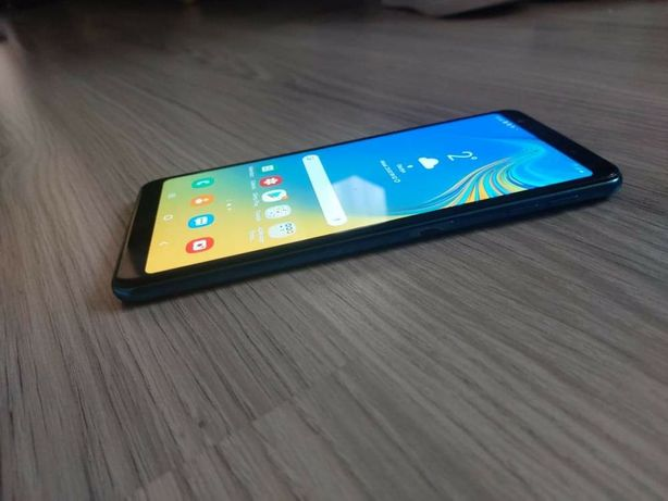 Samsung A7 2018 . Niebieski!