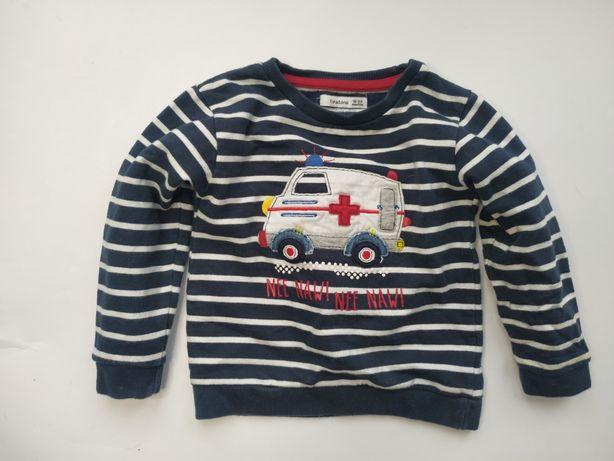 Heatons świetna bluza karetka Autko 86cm/ 92cm