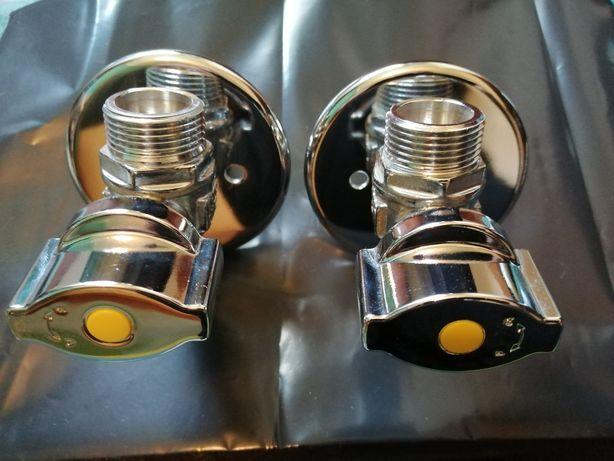 Torneiras-Válvula corte Gás - Esquentador e Fogão
