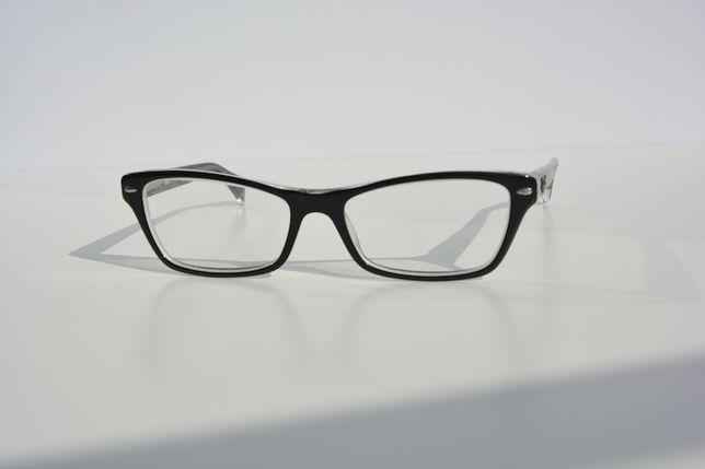 Okulary korekcyjne Ray-ban transparent