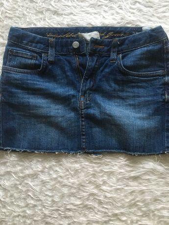 Джинсовая мини-юбка H&M