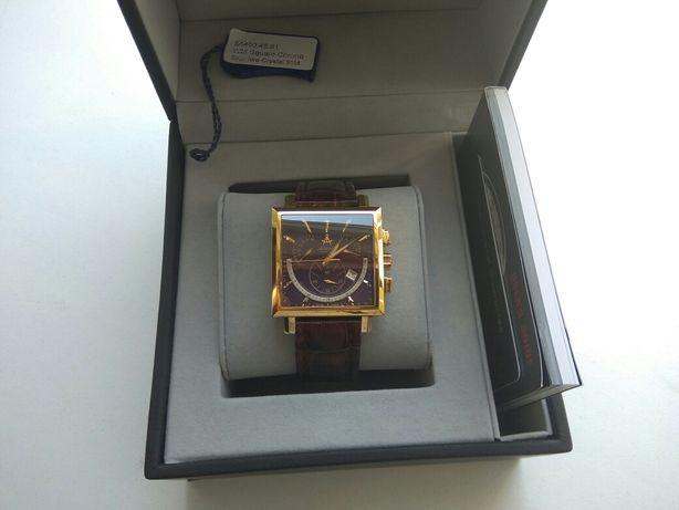 Скидка! Швейцарские часы Atlantic Worldmaster Square Chrono Retrograde