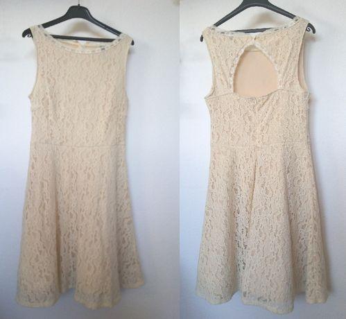 Nowa koronkowa sukienka w rozm. 40