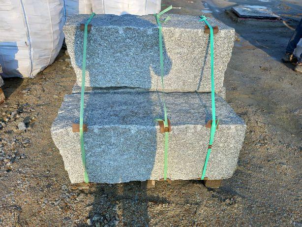 Buce granitowe, bloczki murowe granit, opory