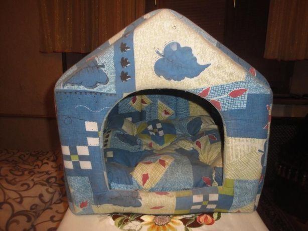 Большой Домик для семьи кошечек (на подарок)