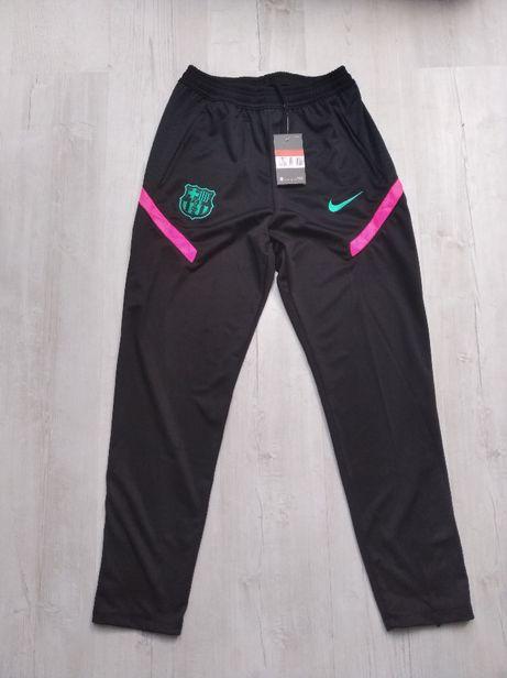 Spodnie Nike FC Barcelona rozmiar L nowe z metkami wersja Breathe