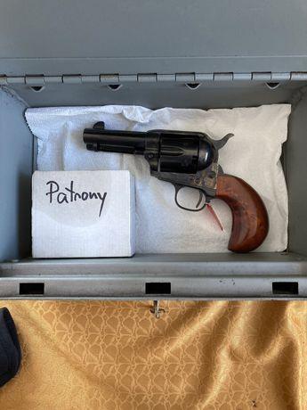 "Czarnoprochowy Colt Cattleman Beeardhead 3,5"". Uberti"