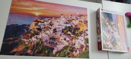 Puzzle Trefl 1000, Santorini