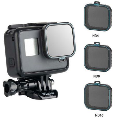 Filtro ND 4 ND 8 ND 16 - Gopro Hero 5 6 7 - Novo Portes Grátis