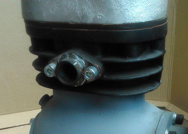 Kolektor sprężarka SAF 23 dolotowy wydechowy śruby uszczelki filtr kpl