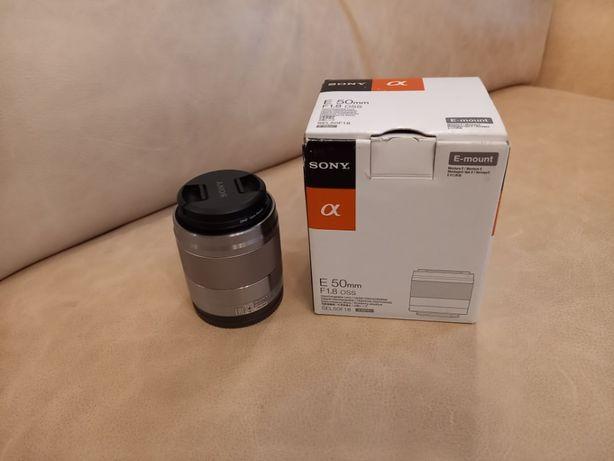 объектив Sony Alfa F 50mm F 1.8 oss