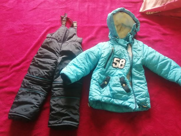 Курточка и комбенизон зима 3 - 4 г