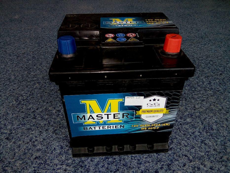 Akumulator MASTER VARTA 12V 40Ah 340A Brzeziny Kostka Panda
