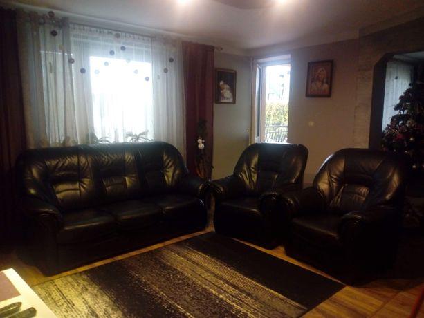 Komplet wypoczynkowy (sofa +2 fotele)