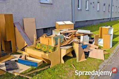 odbiór mebli,/wywóz śmieci,złomu/sprzątanie,OPRÓŻNIANIE mieszka piwnic