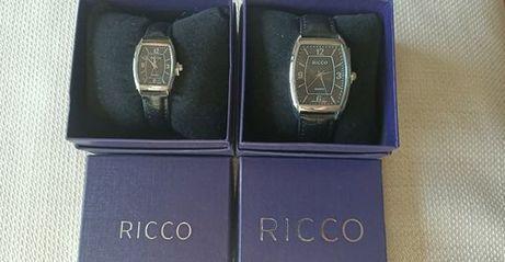 NOWY zegarek damski i męski w pudełku na prezent