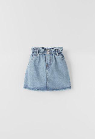 Новая джинсовая юбка Zara