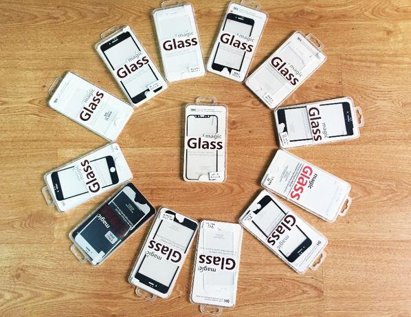 Película vidro temperado completa 3D iPhone 6/6P/7/7P/8/8P/X/XS/XR/Max