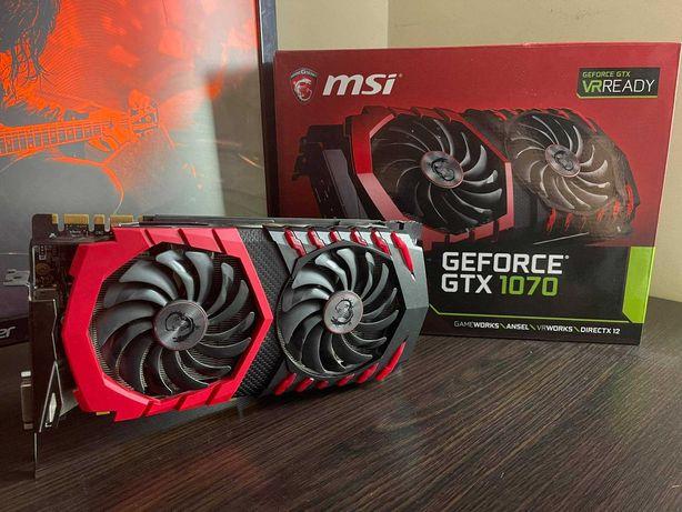 Karta graficzna MSI GeForce GTX 1070 GAMING X 8GB GDDR5