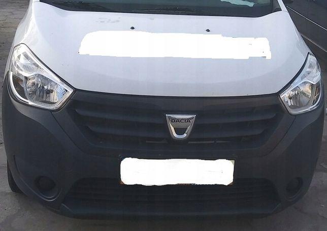 Zderzak kompletny z atrapą Dacia Dokker