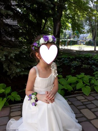 Платье на выпускной на девочку 6-7лет