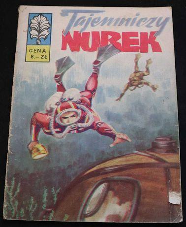 Komiks : Kapitan Żbik - Tajemniczy nurek 1973