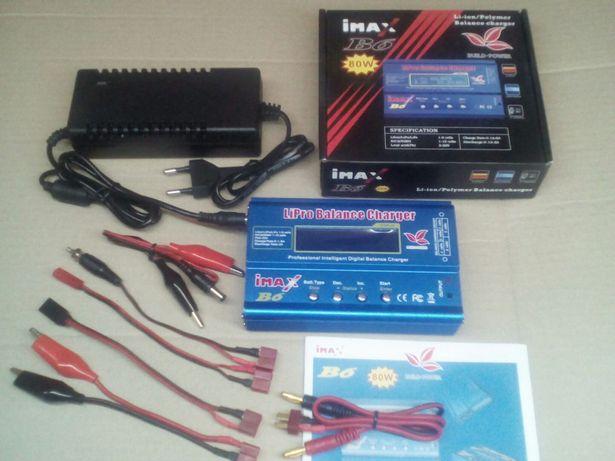 iMAX B6 80W 6A зарядное устройство аймакс б6 LiPo LiIon Pb аккумулятор