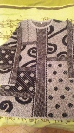Sweter we wzory XL