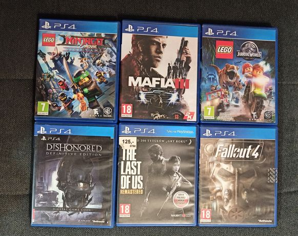 Gry PS4 LEGO, MAFIA III, Fallout 4