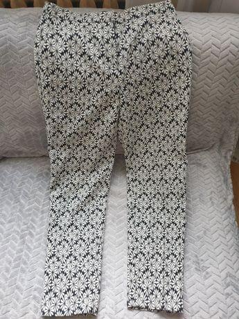 Wzorzyste spodnie rozmiar 36