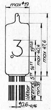 Lampy Elektronowe Nixie z574m