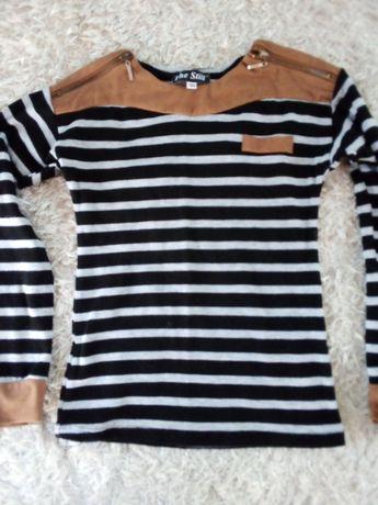 Modna bluzeczka 134 w paski