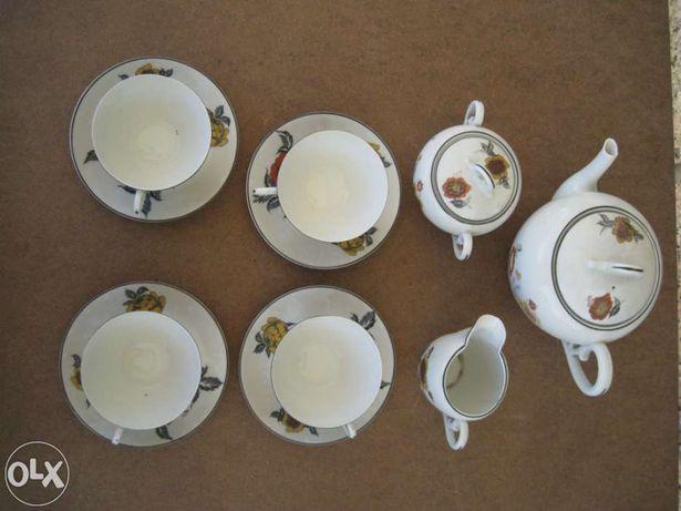 Conjunto de chá Empreza Electrocerâmica de Gaia 1929