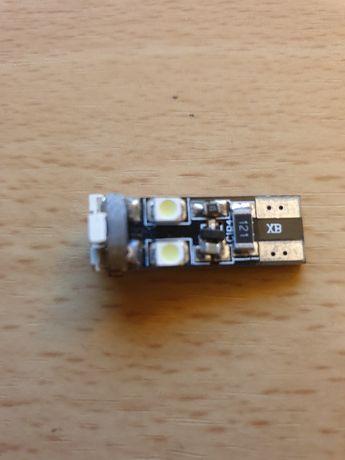 Lâmpada T10 led com 8 leds