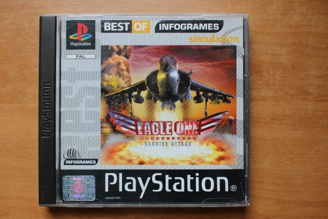 Gra Angle One Harrier Attack Unikat ps1,psx,ps one