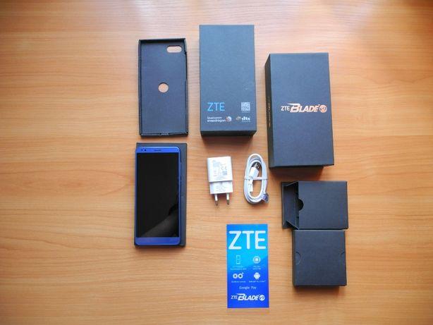 Смартфон ZTE BLADE V9 4/64 + стекло+чехол книжка
