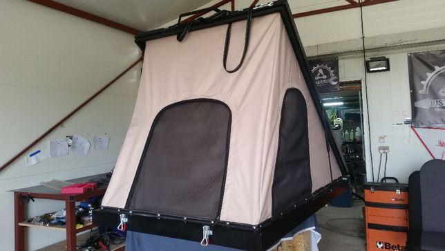 Namiot dachowy wyprawowy aluminiowy 4x4