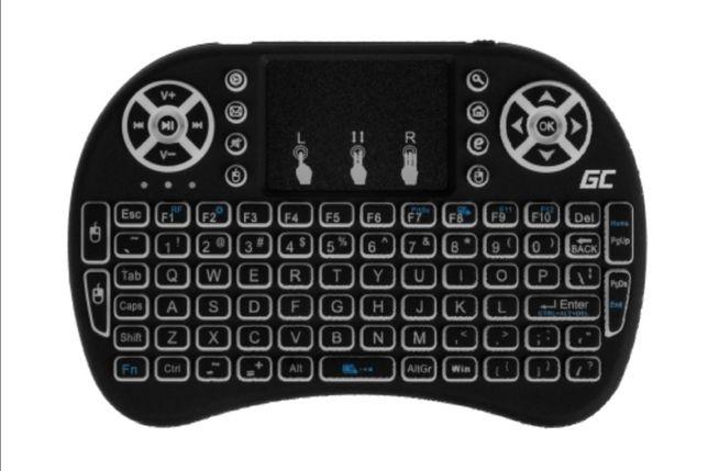 klawiatura bezprzewodowa pasująca do telewizorów tabletów