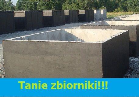 zbiornik betonowy na deszczówkę 10m3, gnojowicę szambo betonowe