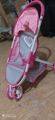 Wózek spacerowy dla lalki. Trójkołowy