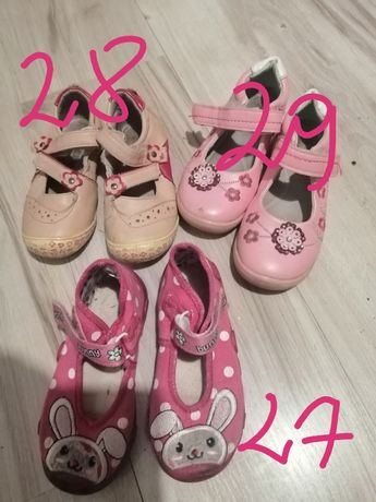 Buty za darmo różne rozmiary
