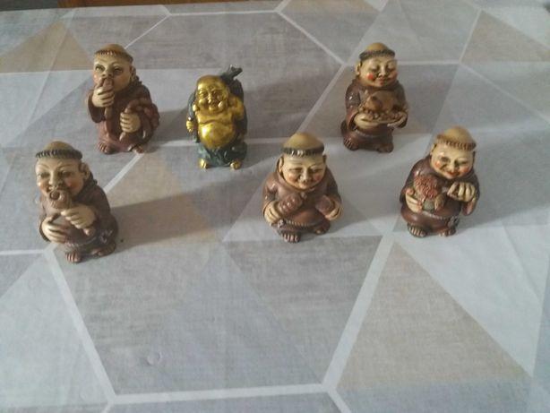 bonecos de abades