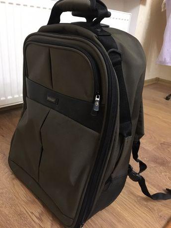 Чемодан-рюкзак